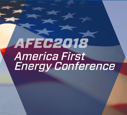 Live-Streaming Today! America First Energy Conference 2018